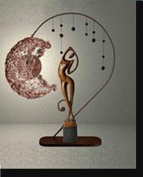 Настольная лампа «Селеста»