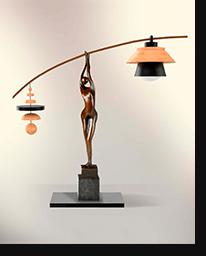 """Настольная лампа """"Экилибр"""""""