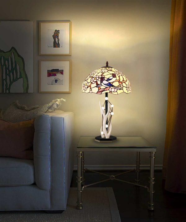 Лампа настольная Тиффани «Анаис»