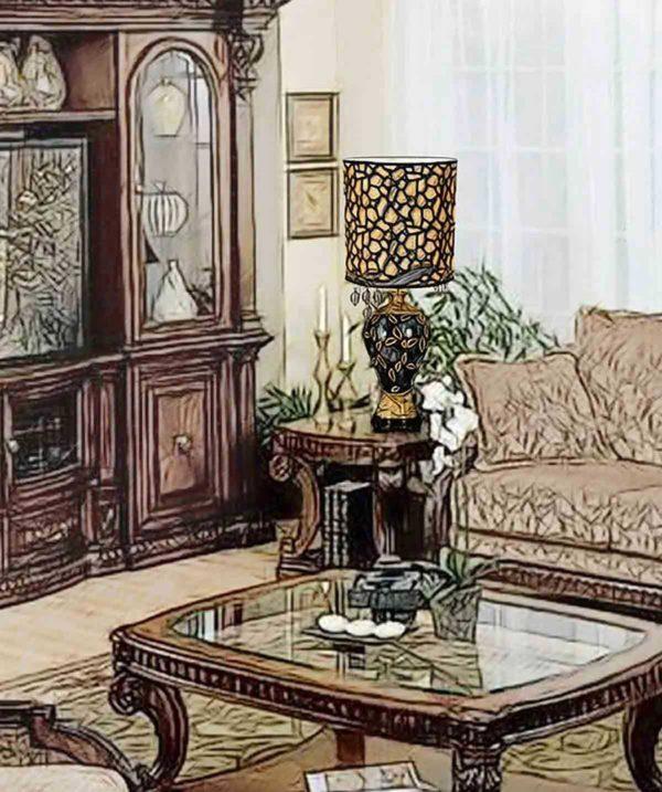 Лампа настольная «Арабика»