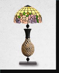 Лампа настольная Тиффани «Хлоя»