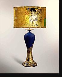 Лампа настольная «Золотая Адель»