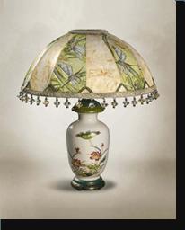 Лампа настольная «Стрекоза»