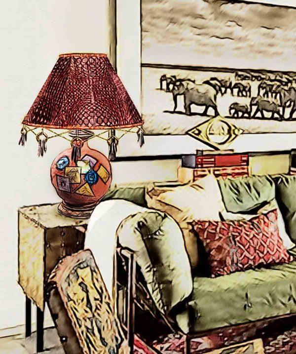 Лампа настольная «Джалинго»