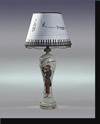 Лампа настольная «Муза»